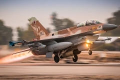 F16C Start - Scorpion Staffel israelische Luftwaffe