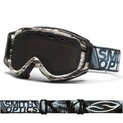 Smith Optics - Stance REG Black-White Dark Sky / Blackout + Yellow