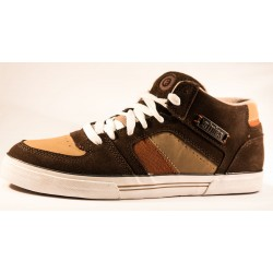 Etnies - Campbell Mid brown tan orange